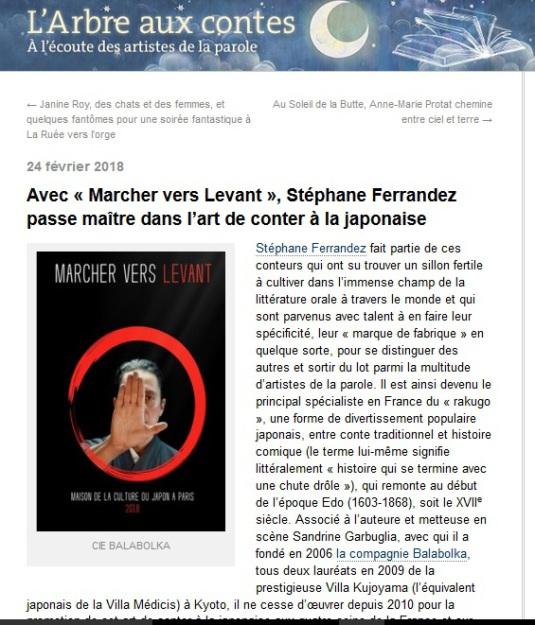 """Le Monde, """"L'Arbre aux contes"""""""